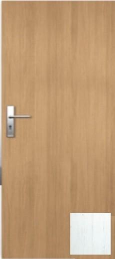 Vchodové dveře Naturel Entry levé 80 cm borovice bílá ENTRYBB80L