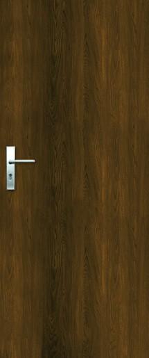 Vchodové dveře Naturel Entry levé 80 cm ořech karamelový ENTRYOK80L