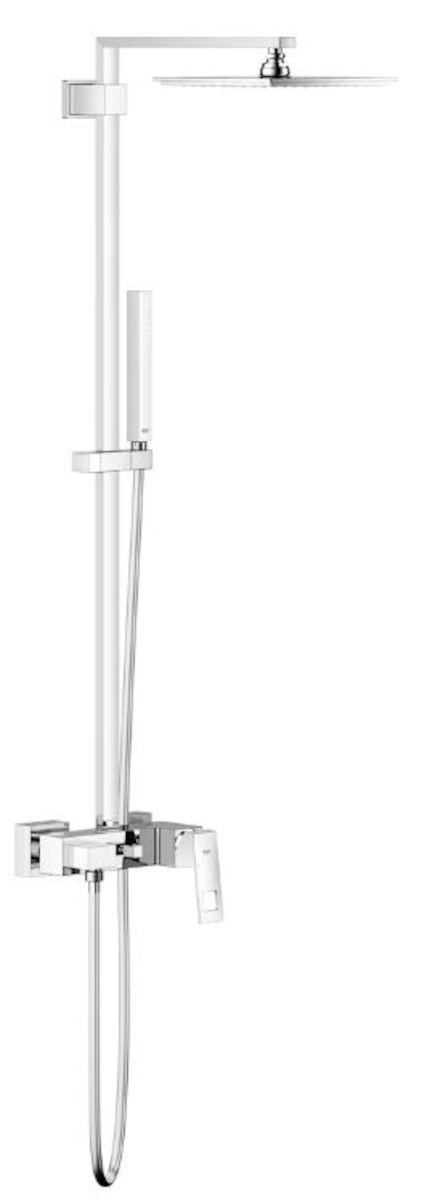 Sprchový systém Grohe Euphoria Cube System s pákovou baterií chrom 23147001