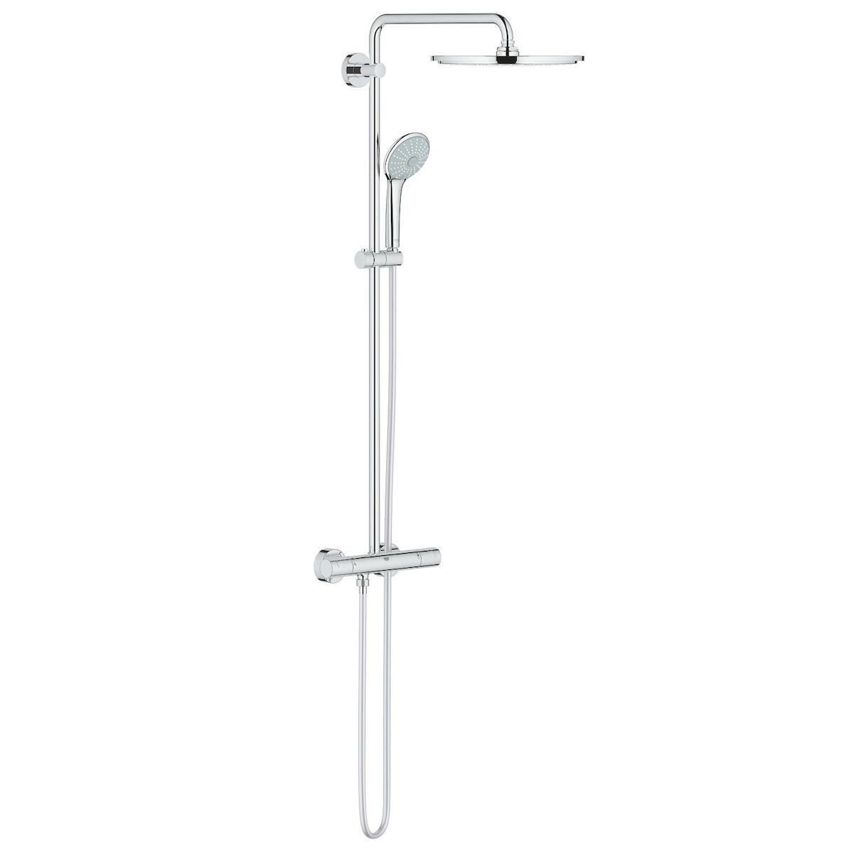 Sprchový systém Grohe Euphoria System s termostatickou baterií chrom 26075000