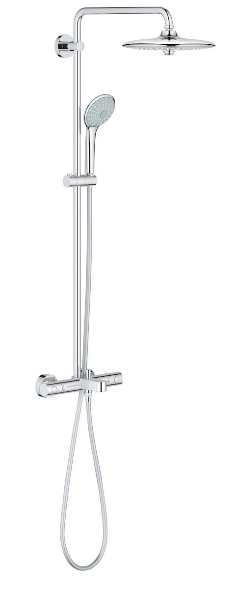 Sprchový systém Grohe Euphoria System s termostatickou baterií chrom 26114001