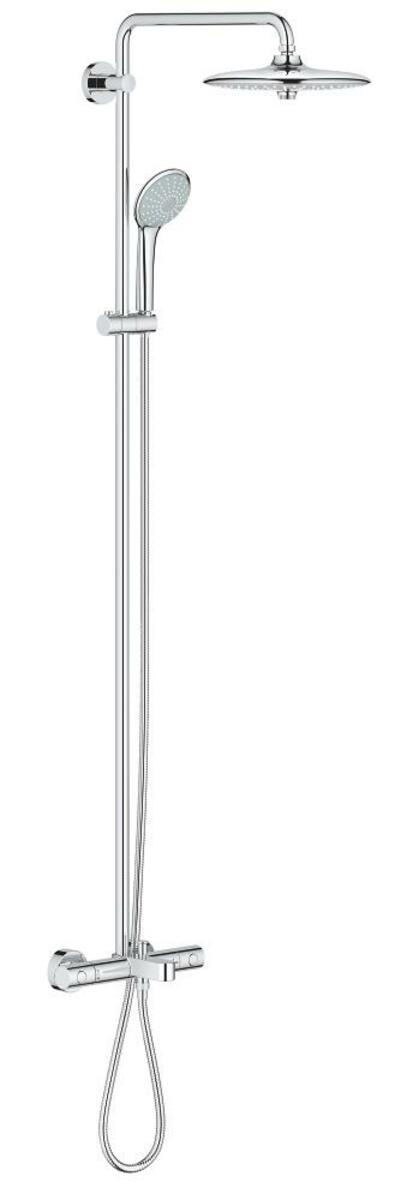 Sprchový systém Grohe EUPHORIA na stěnu s vanovým termostatem chrom 26177001