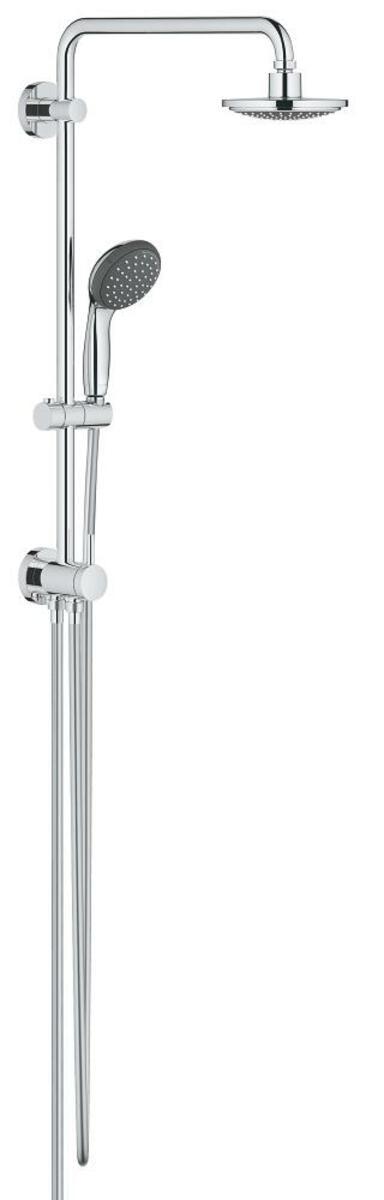 Sprchový systém Grohe Vitalio Start na stěnu se sprchovým setem chrom 26226000