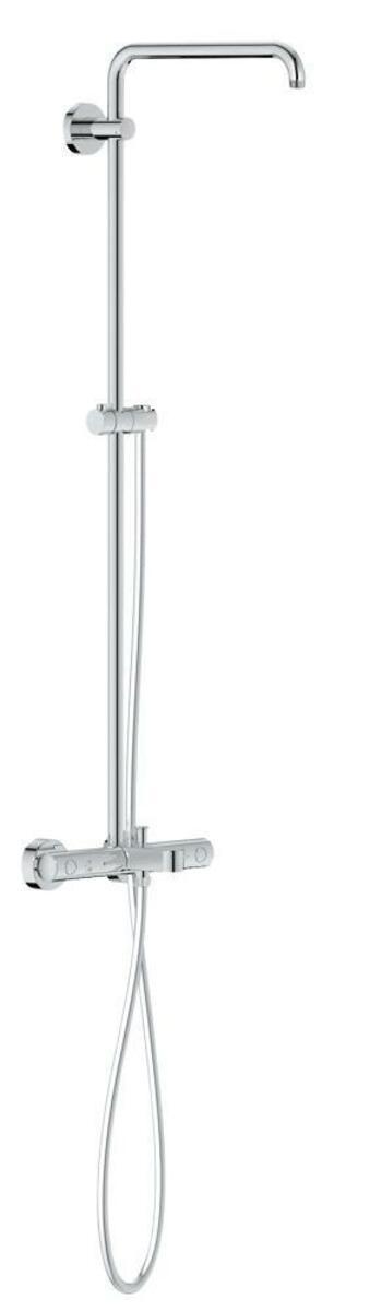 Sprchový systém Grohe EUPHORIA na stěnu s vanovým termostatem chrom 26243000