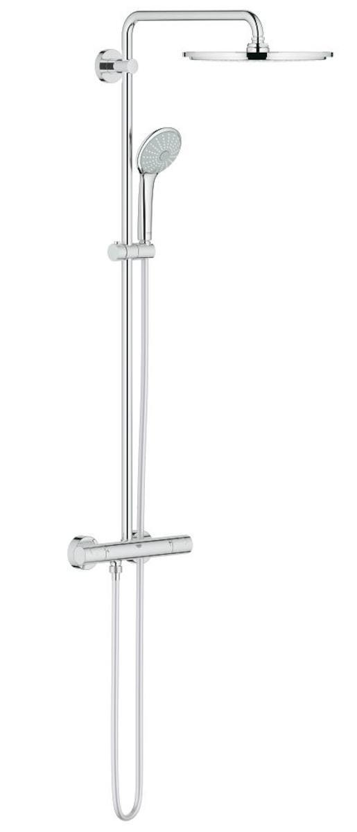 Sprchový systém Grohe Euphoria System s termostatickou baterií chrom 26384000