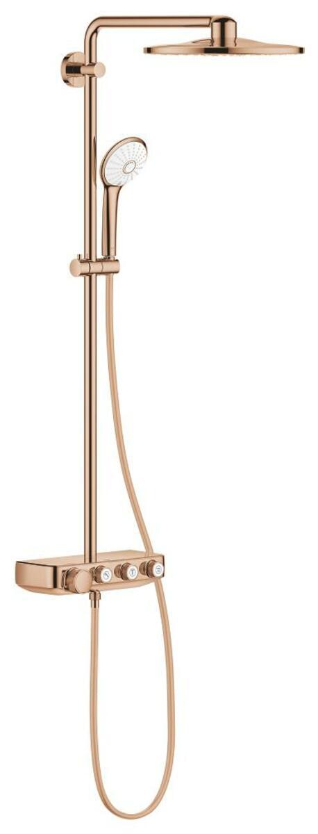 Sprchový systém Grohe EUPHORIA SMARTCONTROL na stěnu s termostatickou baterií Warm Sunset 26507DA0