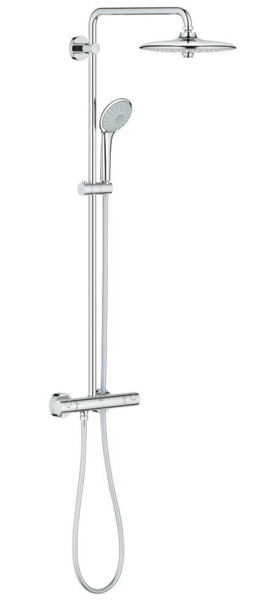 Sprchový systém Grohe EUPHORIA na stěnu s termostatickou baterií chrom 26515000