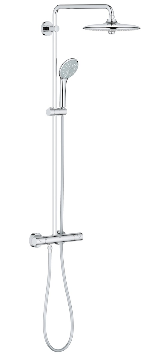Sprchový systém Grohe Euphoria System s termostatickou baterií chrom 27296002