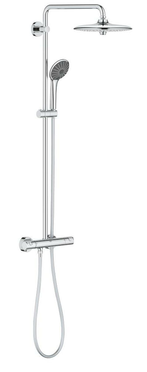 Sprchový systém Grohe Vitalio Joy na stěnu s termostatickou baterií chrom 27298002