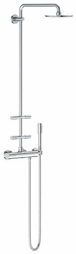 Sprchový systém Grohe Rainshower s termostatickou baterií 27374000