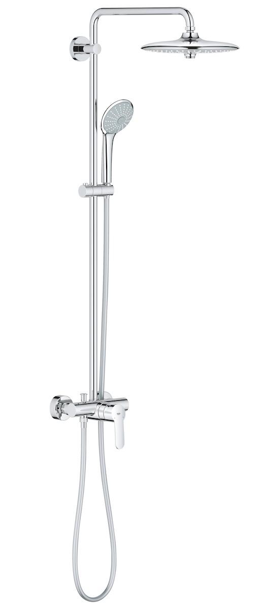 Sprchový systém Grohe Euphoria System s pákovou baterií chrom 27473001