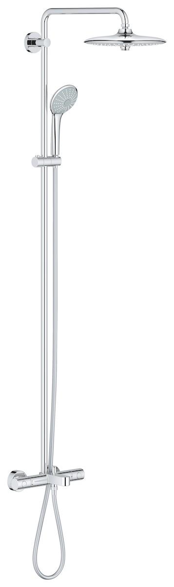 Sprchový systém Grohe Euphoria System s termostatickou baterií chrom 27475001