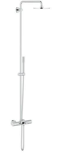 Sprchový systém Grohe Rainshower System s termostatickou baterií chrom 27641000