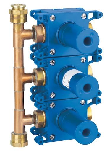 Grohe Rapido Rapido C těleso pro třícestný ventil pod omítku (35031000) Grohe