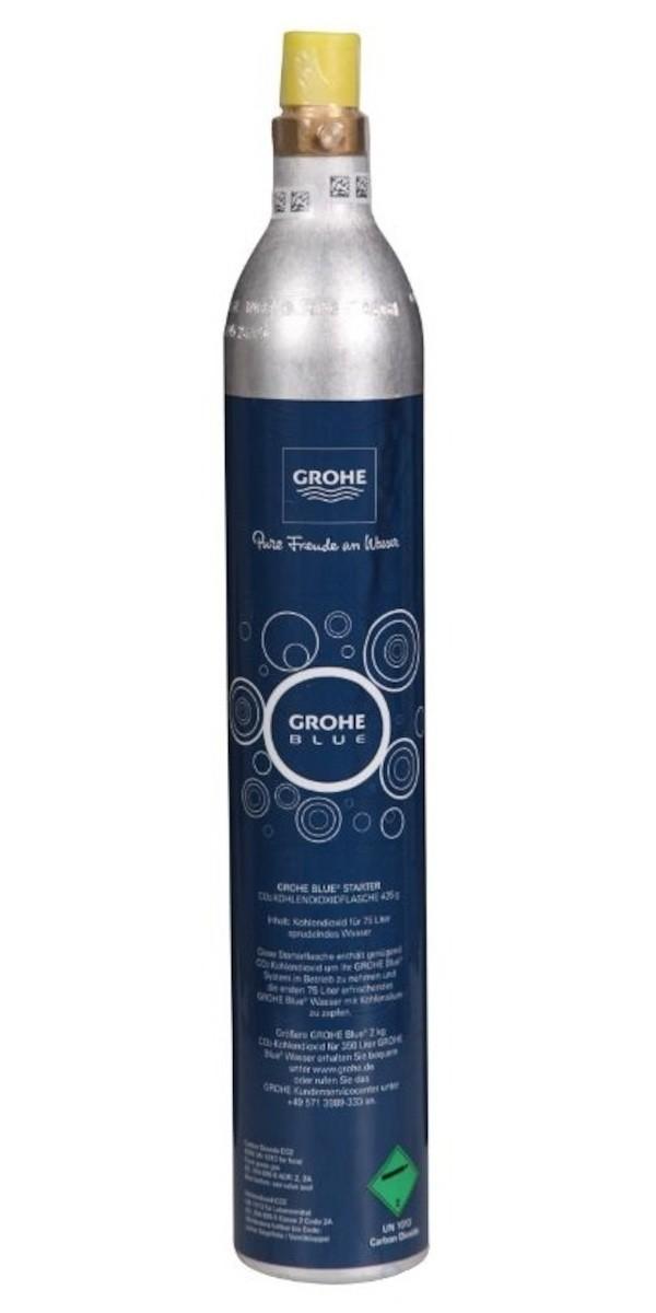 Karbonizační lahev CO2 425 g (4 ks) Grohe Blue Home 40422000 - Grohe Tlaková láhev CO2 425g pro Grohe Blue ( 4ks ) ( 40422000 )