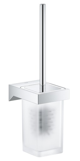 Wc štětka Grohe Selection Cube chrom 40857000