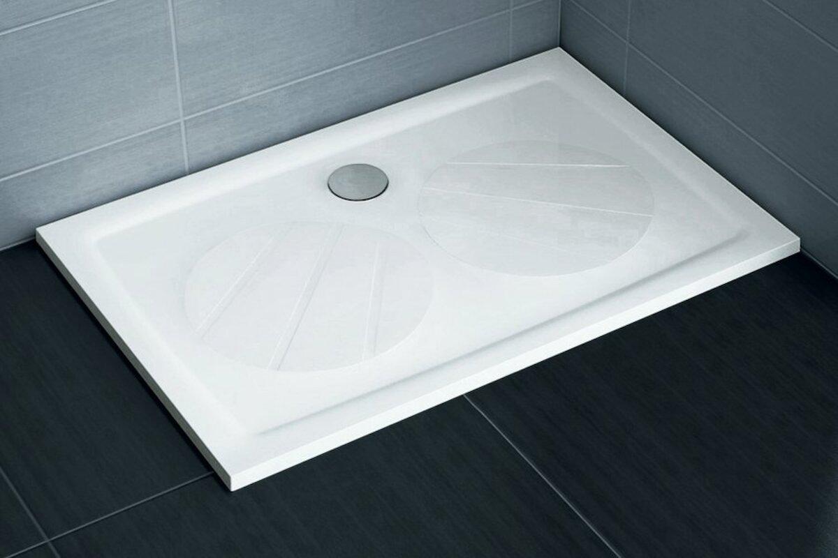 Sprchová vanička obdélníková Ravak Gigant 120x90 cm litý mramor XA03G701010