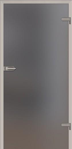 Skleněné dveře Naturel Glasa levé 60 cm grafit GLASA1G60L