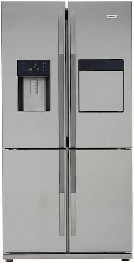 Volně stojící chladnička Beko GNE134630X