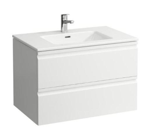 Skříňka s umyvadlem Laufen Pro S, bílá lesklá H8619634751041