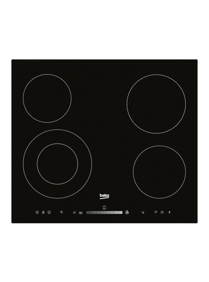 Sklokeramická varná deska Beko černá HIC64502T