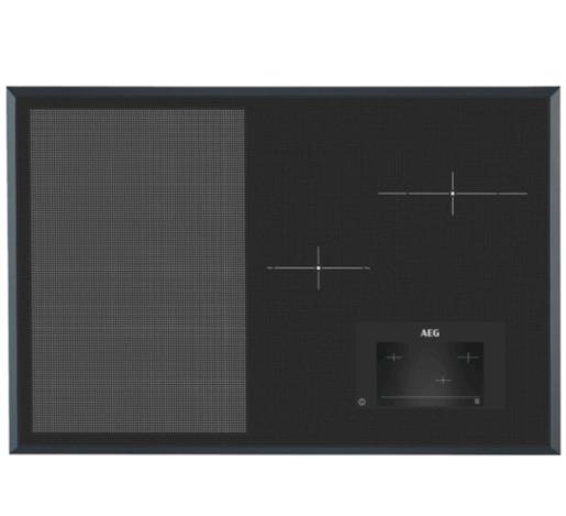 Indukční varná deska AEG černá HKH81700FB