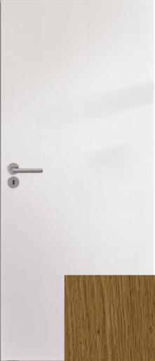 Ibiza interiérové dveře pravé bílá 70cm - IBIZAB70P