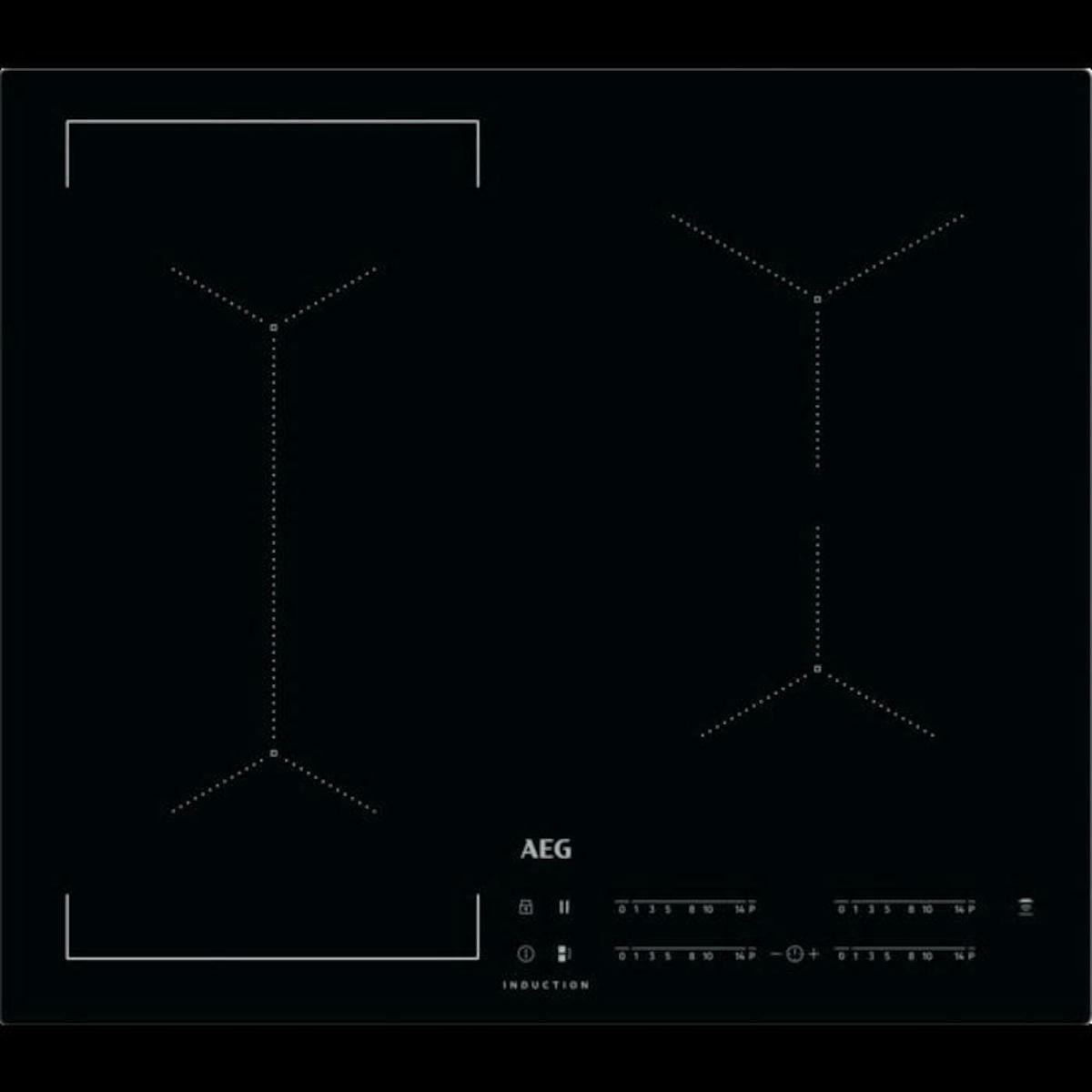 Indukční varná deska AEG černá IKE64441IB
