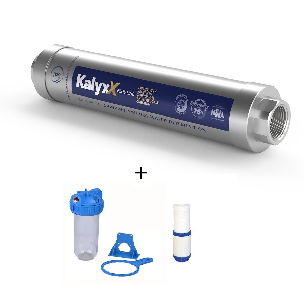 """SAT - IPS KallyX Blue line 1/2"""" + domácí filtr včetně vložky IPSKXBG12HF121010M"""