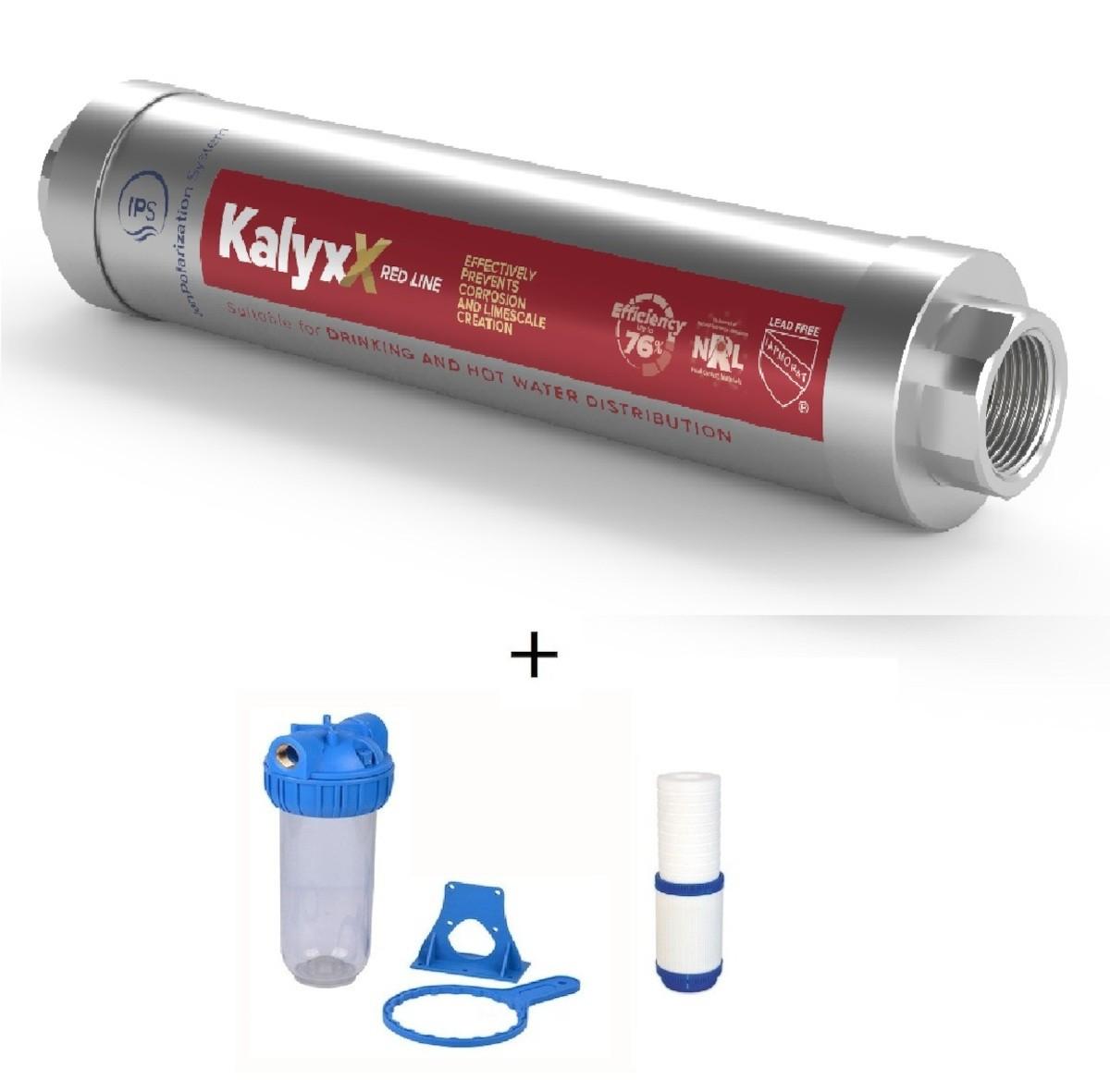 """SAT - IPS KallyxX Red line 1/2"""" + domácí filtr s vložkou IPSKXRG12HF121010M"""