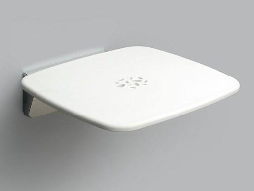 Sprchové sedátko nástěnné, bílá ISEDZAVB Provex