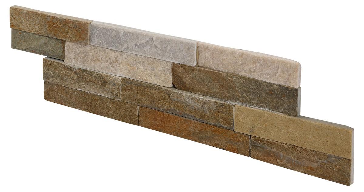 Jaký Obklad za kuchyňskou linku Stones Lithos ivory 10x40 cm KAMENIV