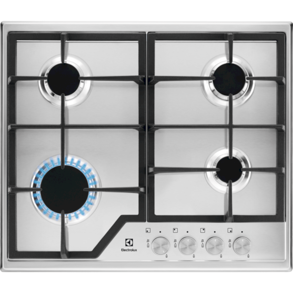 Plynová varná deska Electrolux nerez KGS6426SX