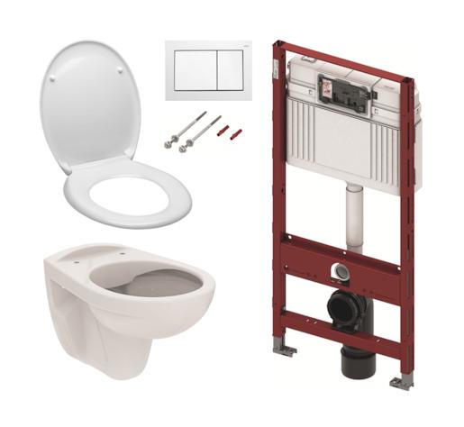 Set TECE 5v1 - komplet WC do sádrokartonu KMPLSIKOTS