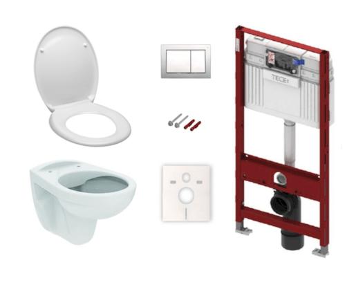 Set 6v1 TECE - komplet WC do sádrokartonu KMPLSIKOTSCR