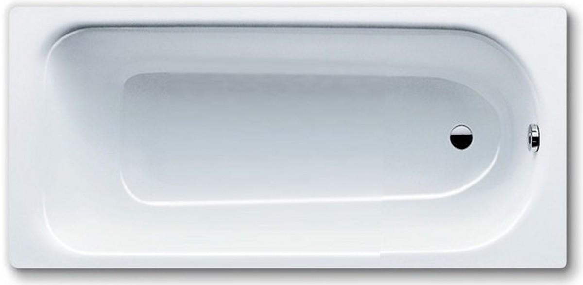 Obdélníková vana Kaldewei EUROWA 140x70 cm smaltovaná ocel alpská bílá 119500010001