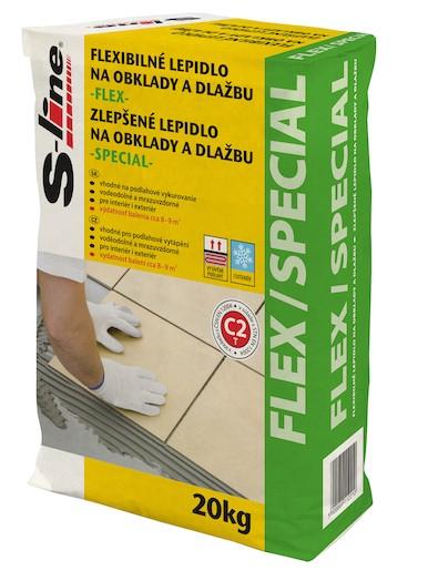 Lepidlo S-Line Special 20 kg šedá (C2T) LFLEX20