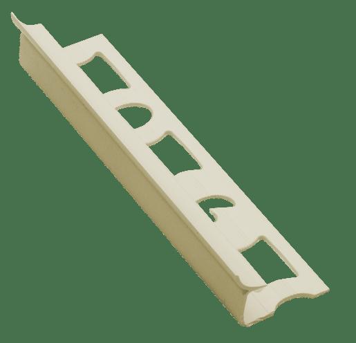 Lišta rohová vnitřní PVC jasmín, délka 250 cm, výška 9 mm, LV925020