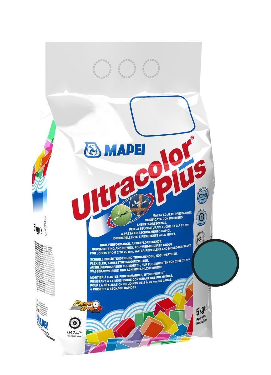 Spárovací hmota Mapei Ultracolor Plus tyrkysová 5 kg CG2WA MAPU171