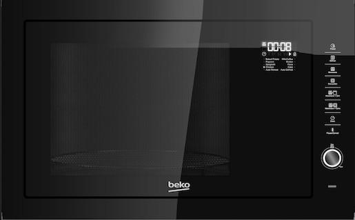 Vestavná mikrovlnná trouba Beko černá MGB25333BG