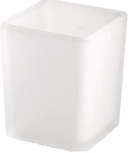 Náhradní skleněná miska k WC štětce Donata NDSKLOWCDON