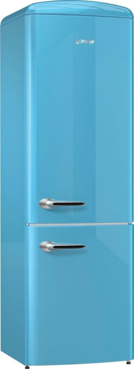 Volně stojící lednice Gorenje ORK192BL modrá