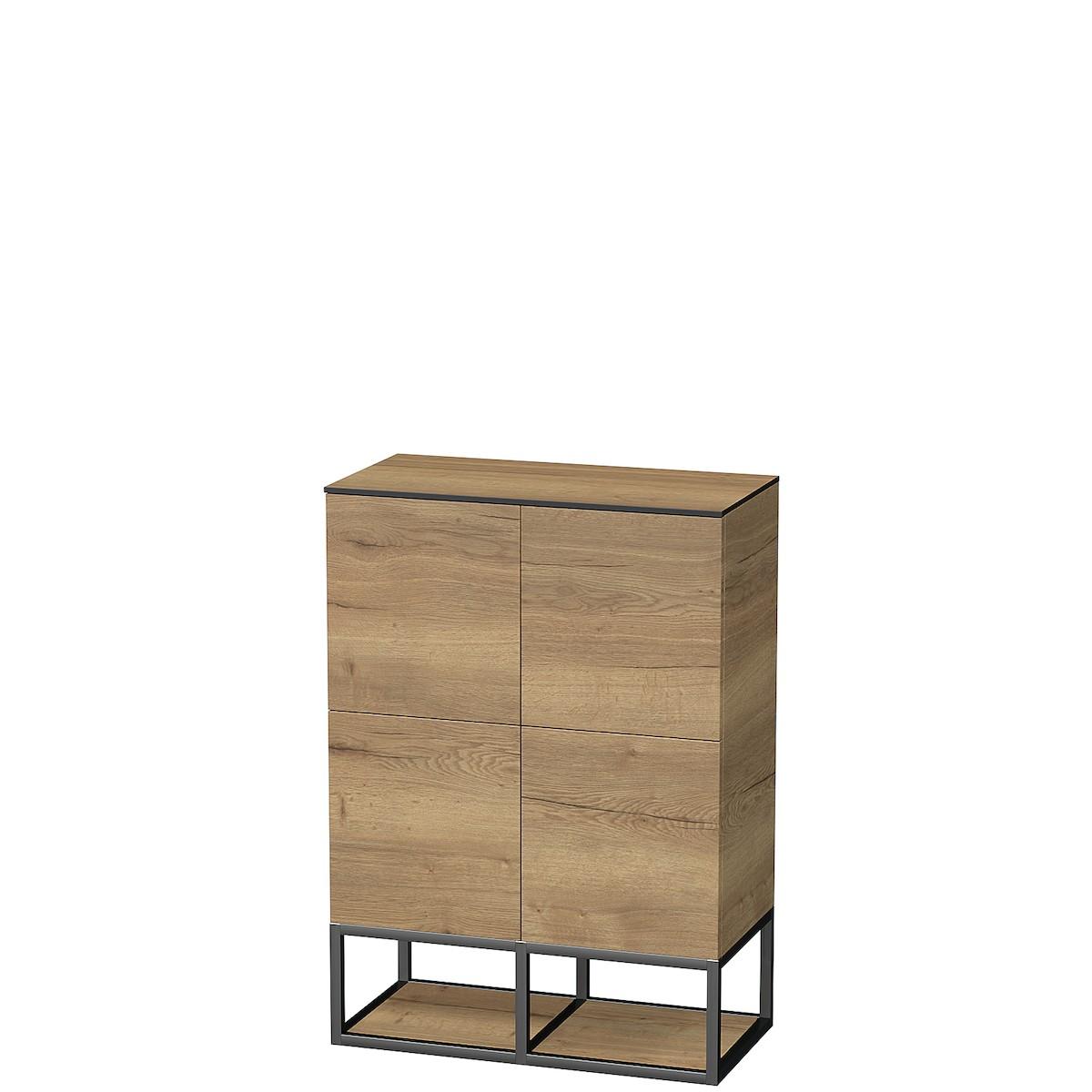 Koupelnová skříňka nízká Naturel Oxo 70x35 cm dub halifax OXO70994Z
