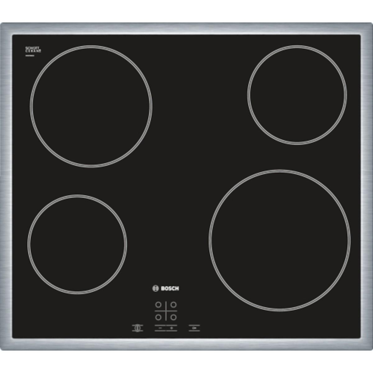 Sklokeramická varná deska Bosch černá PKE645D17E