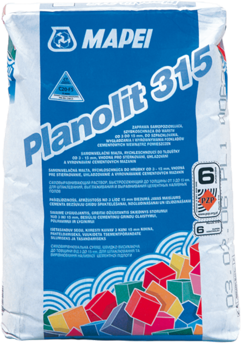 Samonivelační hmota Mapei Planolit 315 23 kg PLANOLIT315