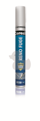 Barva na spáry Ceresit Reno Fuge bílá 7 ml RENOFUGE