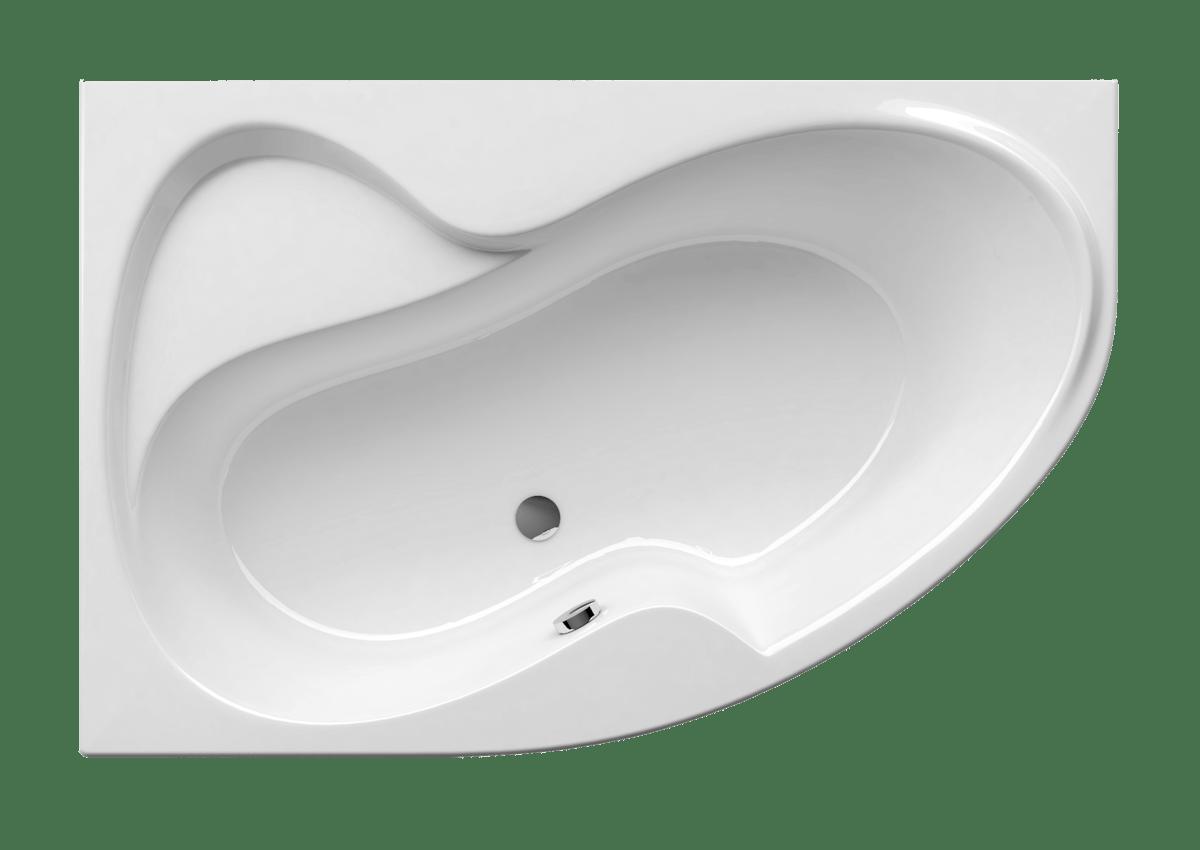 Asymetrická vana Ravak Rosa Ii 150x105 cm akrylát levá CK21000000