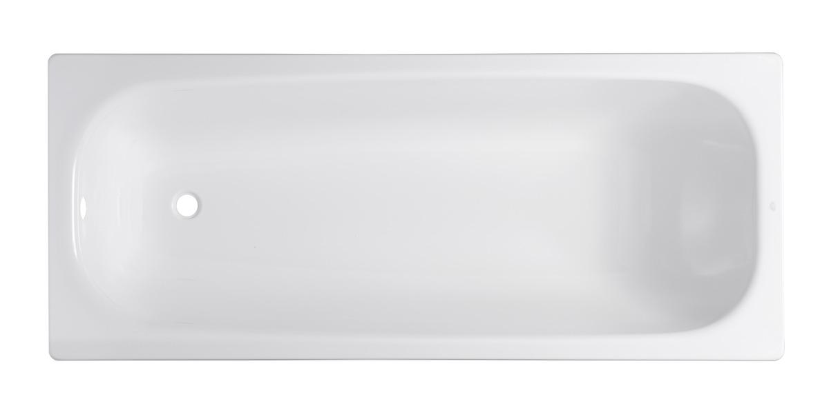 Obdélníková vana Vivien 150x70 cm SAT smaltovaná ocel SATVIVI150