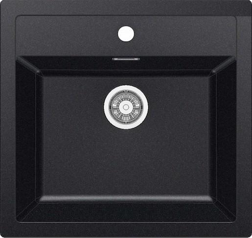Dřez Franke 56x53 cm černá SID610C Franke