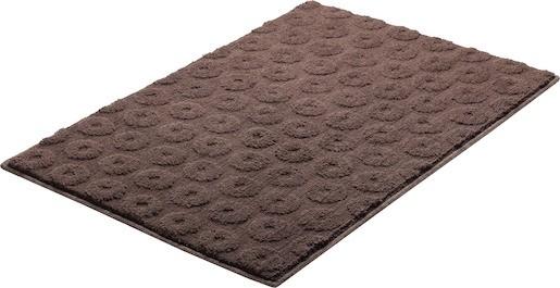 Koupelnová předložka polyester Grund 90x60 cm, hnědá SIKODGLIS604